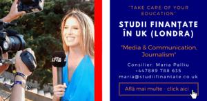 Maria Palliu consilier Studii Finantate UK Universitati Anglia Londra Maria Palliu consilier Studii Finantate UK Universitati Anglia Londra Media & Communication, Journalism