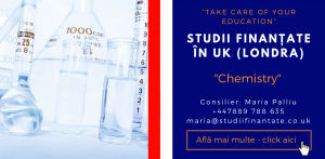 Maria Palliu consilier Studii Finantate UK Universitati Anglia Londra Chemistry