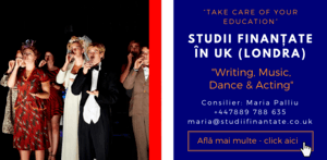 Maria Palliu consilier Studii Finantate UK Universitati Anglia Londra Maria Palliu consilier Studii Finantate UK Universitati Anglia Londra Writing, Music, Dance & Acting